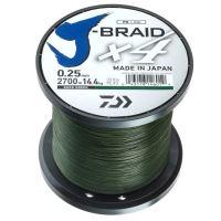 Daiwa - Pletená šnůra J-Braid X4 0,25/14,4kg