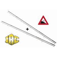 JRC Kaprový dvoudílný prut Powerplay 12ft 2,75lb 1+1 ZDARMA