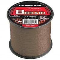 Cormoran - Pletená šnůra Corastrong 8-braid S 0,20mm/8,6kg