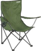 FOLDING CHAIR WITH ARMS 52x50x42/85cm 2,8kg 19mm