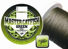 Giants fishing Giants fishing Splétaná šňůra Master Catfish Green 0,60mm/1200m
