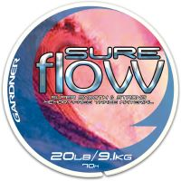 Gardner Návazcový vlasec Sure Flow Clear|70m