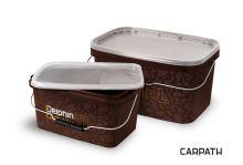 Hranaté vědro s víkem Delphin CARPATH