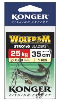 Konger Wolframové lanko 1ks 45cm/25kg