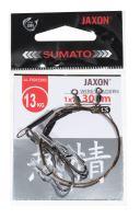 Jaxon - Návazec Trojháček 1x7 Lanko 30cm 13kg 2ks vel. 2 (AJ-PAD123002)