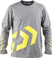Daiwa - Triko s dlouhým rukávem D-Vec T-Shirt LS grey/yellow