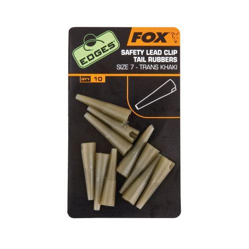 FOX - Závěs Edges Safety Lead Clip Tail Rubbers vel.7 (10ks)