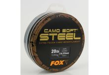 FOX - Vlasec Edges Soft Steel Dark Camo 0.370mm 20lb / 9.10kg 1000m
