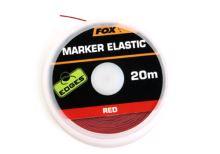 FOX - Označovací šňůrka Marker Elastic Red 20m
