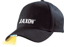 CAP WITH FLASHLIGHT - BLACK 5 led 2xCR2032 INCLUDED