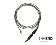 Návazec THE END Leadcore + PIN clip / 3ks 1m