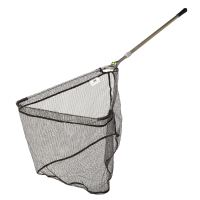 Giants fishing Podběrák Strong Alu Rubber Landing Net 2,2m, 50x50cm